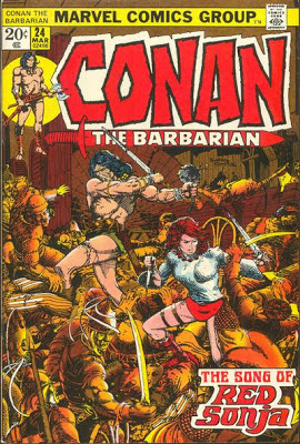 Conan the Barbarian 24, Red Sonja, Barry Windsor Smith