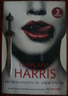 Portada del libro Muerto hasta el anochecer, de Charlaine Harris