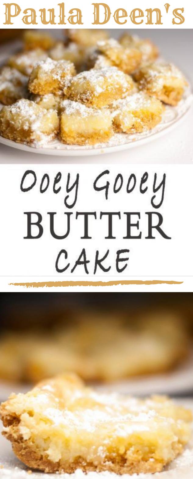 PAULA DEEN'S OOEY GOOEY BUTTER CAKE #cake #butter