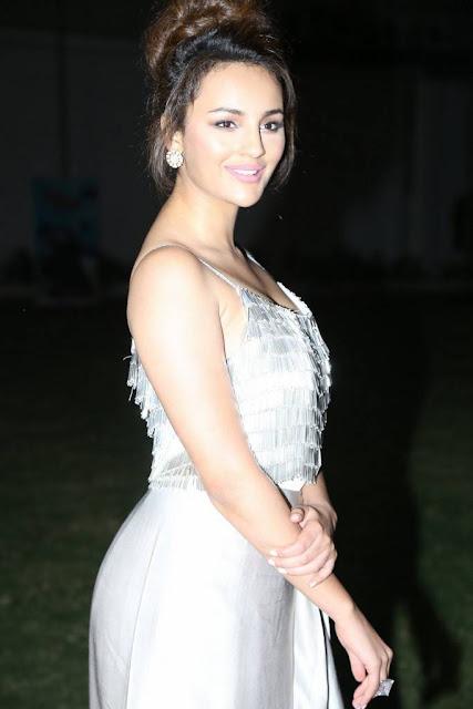 Seerat Kapoor Stills At Okka Kshanam Movie Pre Release Event