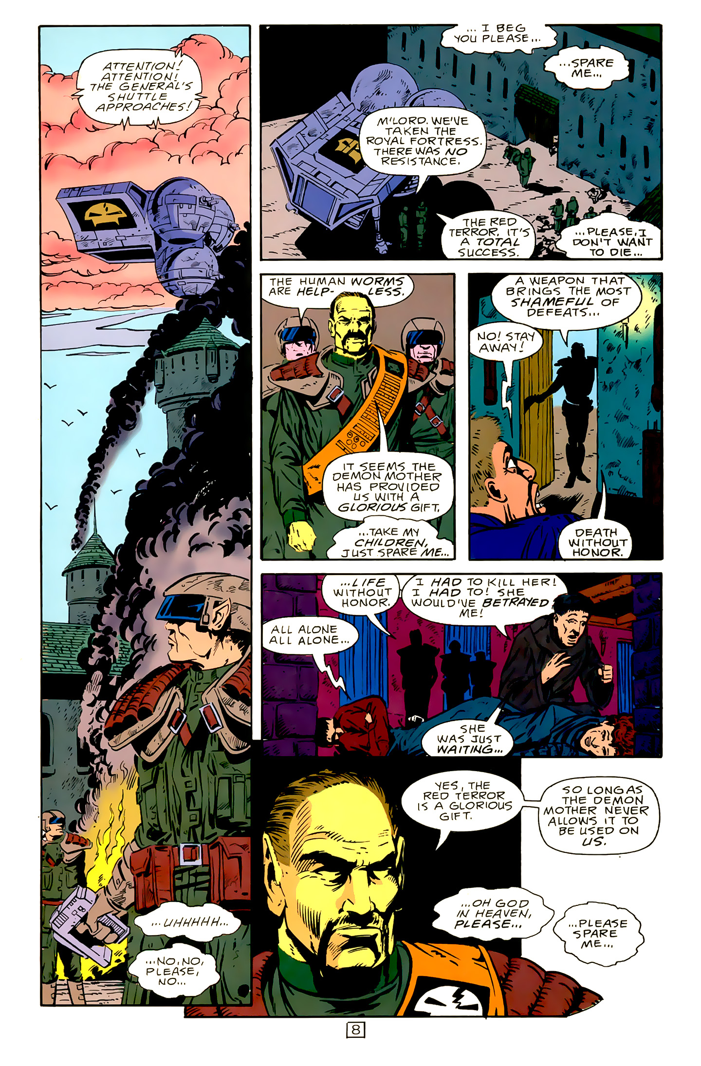 Legion of Super-Heroes (1989) 15 Page 8