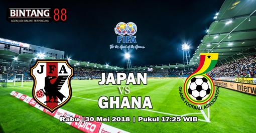 Prediksi Japan vs Ghana 30 Mei 2018