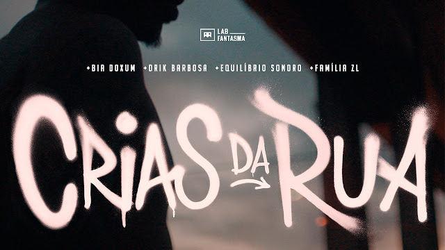 "Drik Barbosa se une a novos artistas (Bia Doxum, Equilíbrio Sonoro e Família ZL) da cena hip-hop no single ""Crias da Rua"""