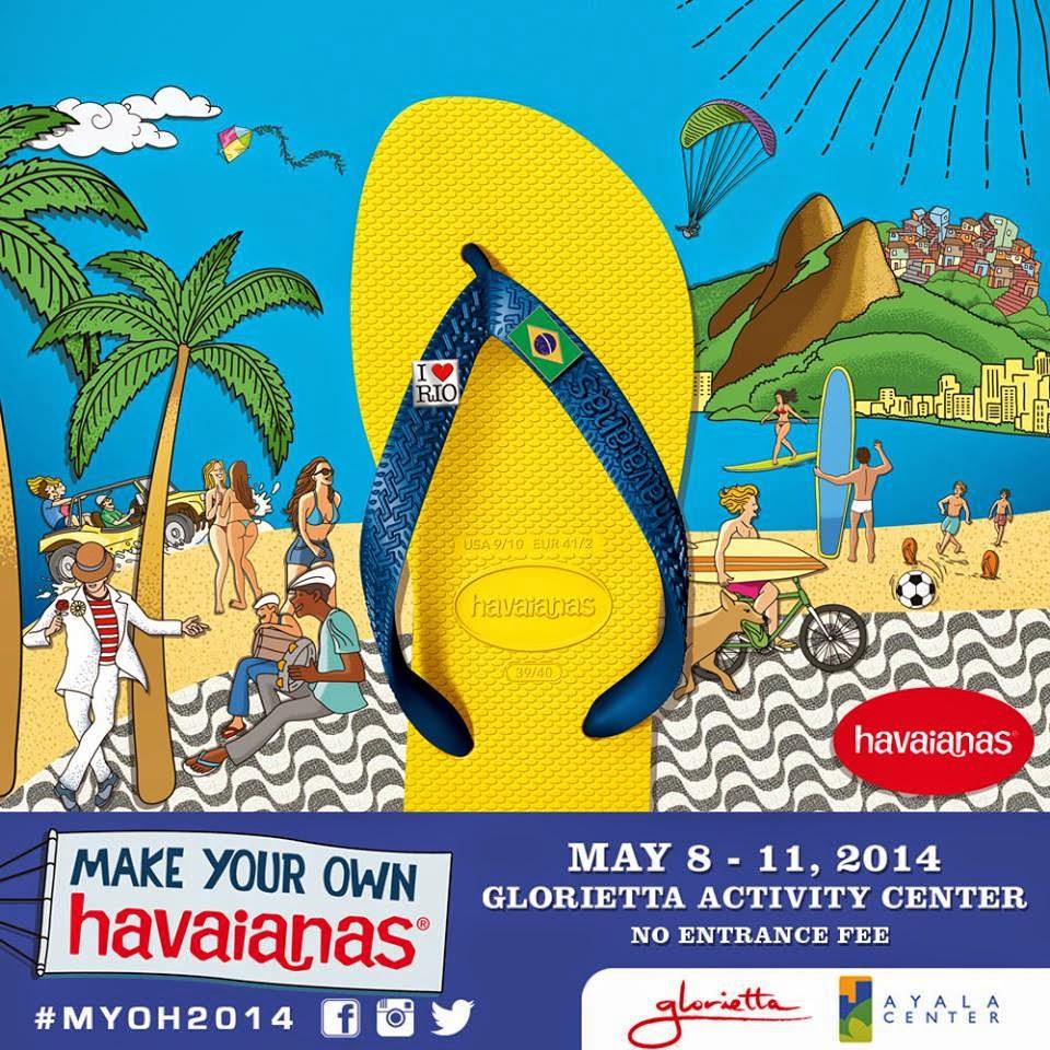 d956955b3 Manila Life  Viva Brasil! – Make Your Own Havaianas 2014 happens May ...
