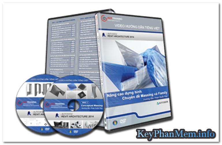 DVD học Revit Architecture 2014 – Chuyên đề Family và Massing