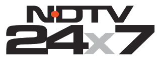 NDTV 24x7 Channel frequency on Nilesat