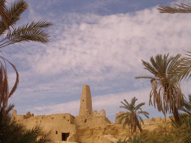 Templo del Oráculo de Amón, Siwa