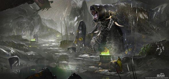 Bigball Gao artstation arte ilustrações fantasia games terror