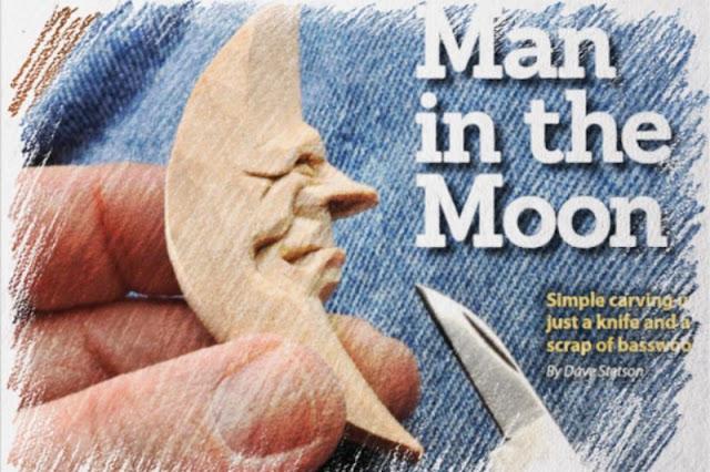 tallar madera, tallar luna de madera, manualidades