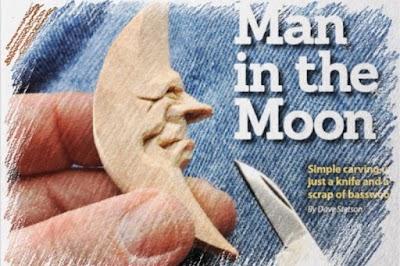 ¿Tallamos una Luna de Madera? con tutorial