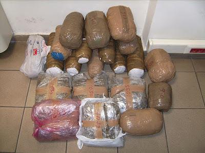 Σαγιάδα: Εντοπίστηκε σάκος με 12,3 κιλά κάνναβης