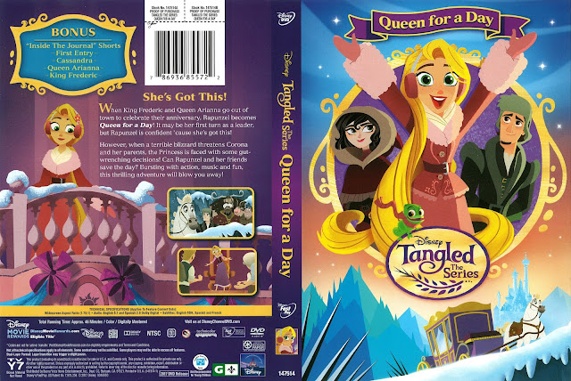 Tangled Queen for a Day DVD Cover