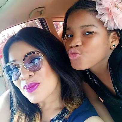 Monalisa Chinda And Daughter