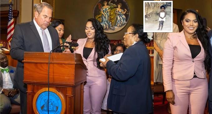 Dominicana con padre analfabeto y que llegó a los ocho años a EEUU jura como jueza municipal en Nueva Jersey