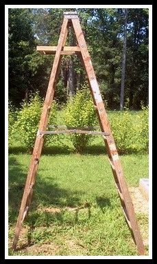 How to Repurpose a Large Ladder