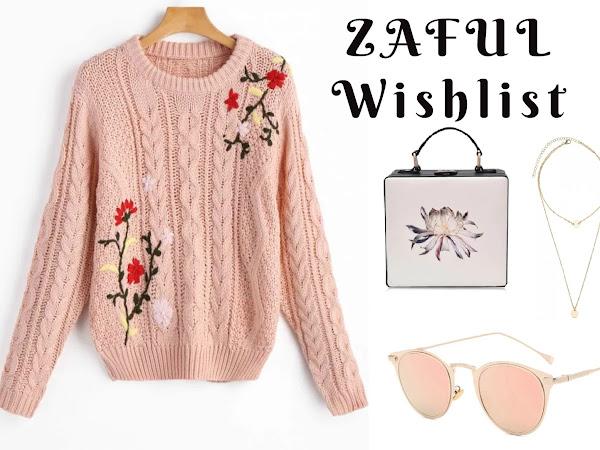 Zaful jesenný wishlist 2017