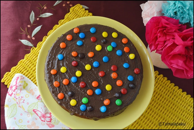 Eggless Ragi Chocolate Cake