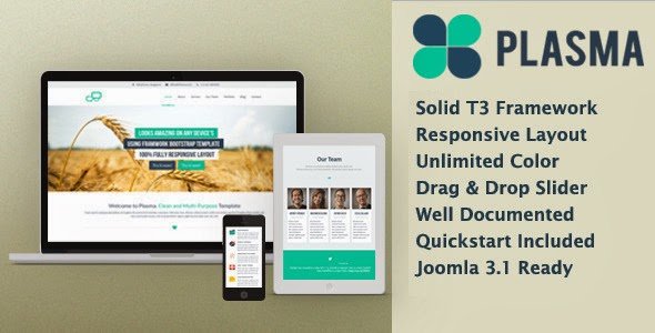 Plasma – Multi-Purpose Responsive Template