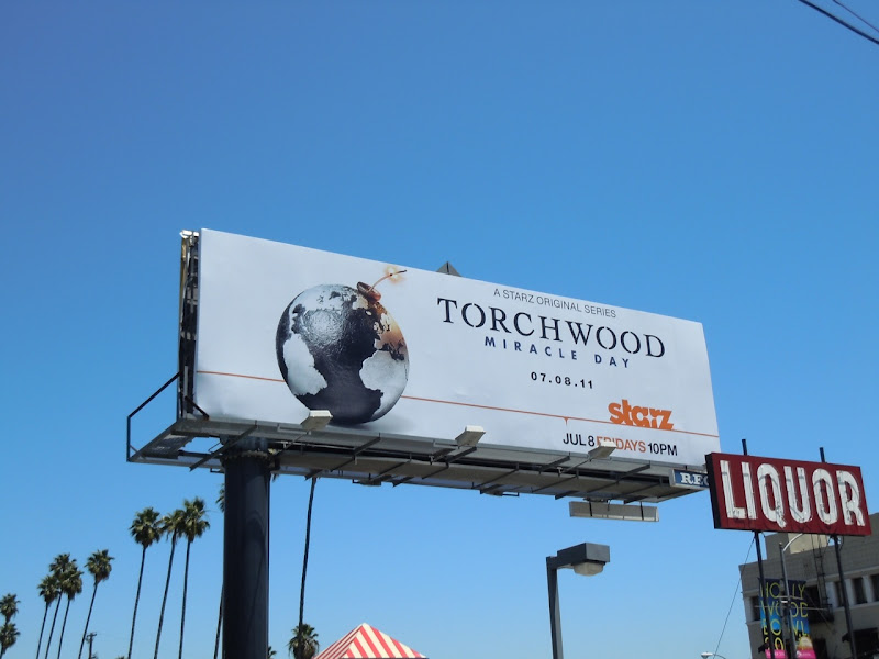 Torchwood Miracle Day billboard