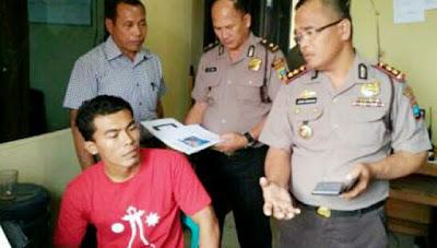 Sahat S. Gurning diperiksa Polisi