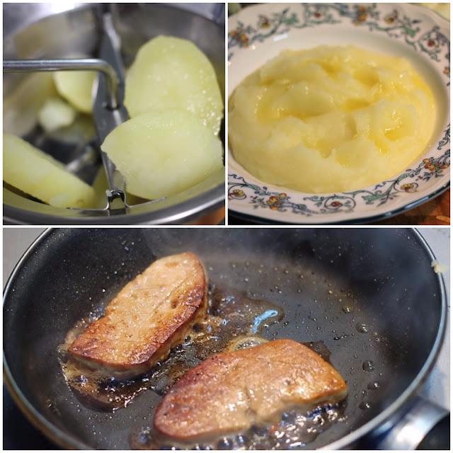 Crema De Patata Trufada Con Huevo Y Foie
