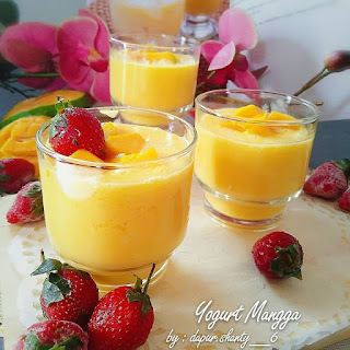 Resep Cara Membuat Yogurt Mangga
