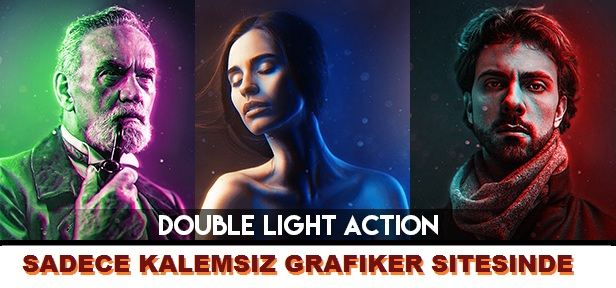 Dual Colour Photoshop Action
