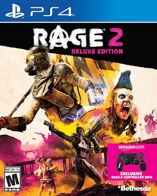 Rage 2 Game Cover Ps4 Deluxe Edition