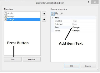 How to use ListBox Control in ASP.NET