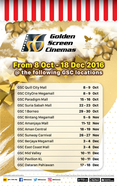 GSC Cinemas Free Movie Tickets Happy Birthday Campaign Promo