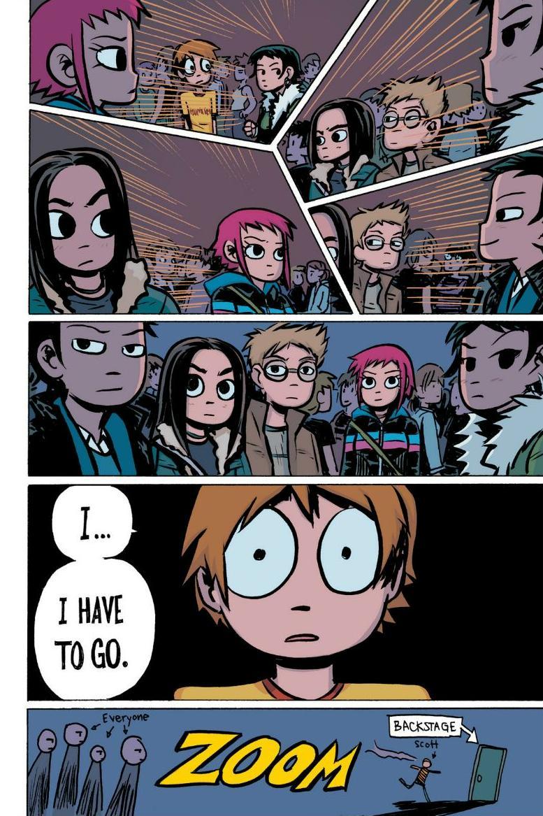 Read online Scott Pilgrim comic -  Issue #1 - 112