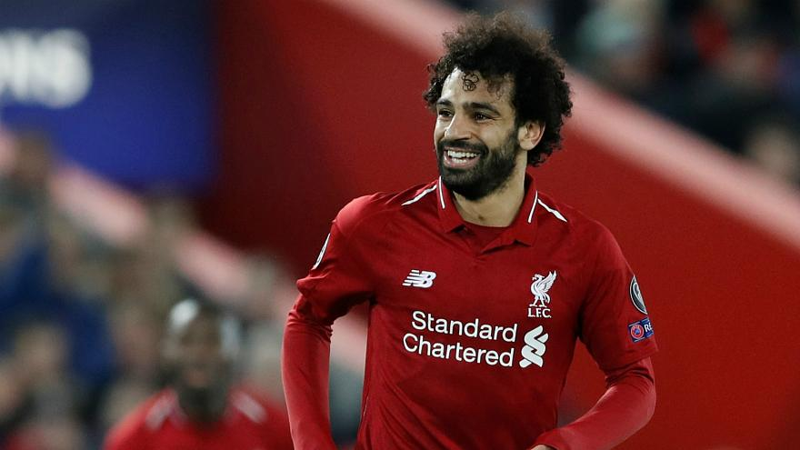 محمد صلاح أفضل لاعب إفريقي للمرة الثانية