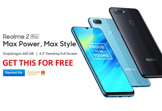 Smartphone Realme 2 Pro Percuma Untuk 2 Follower Bertuah