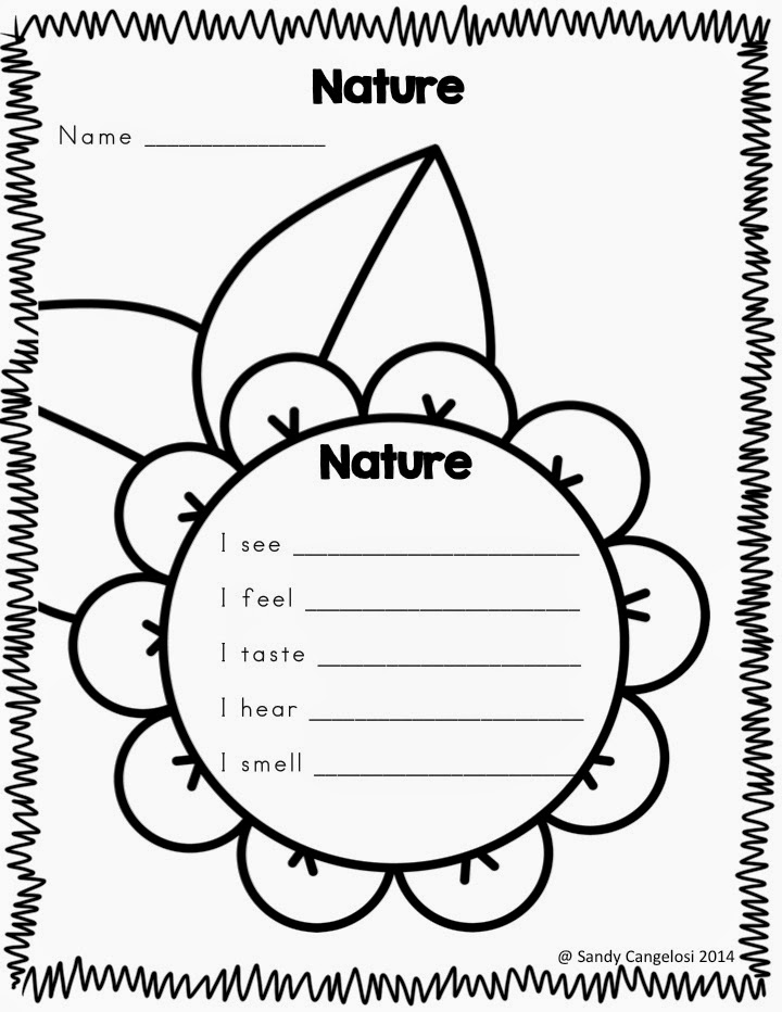 In this blog post, I've provided 6 different outdoor activities for Earth Day. (Sensory Poems)