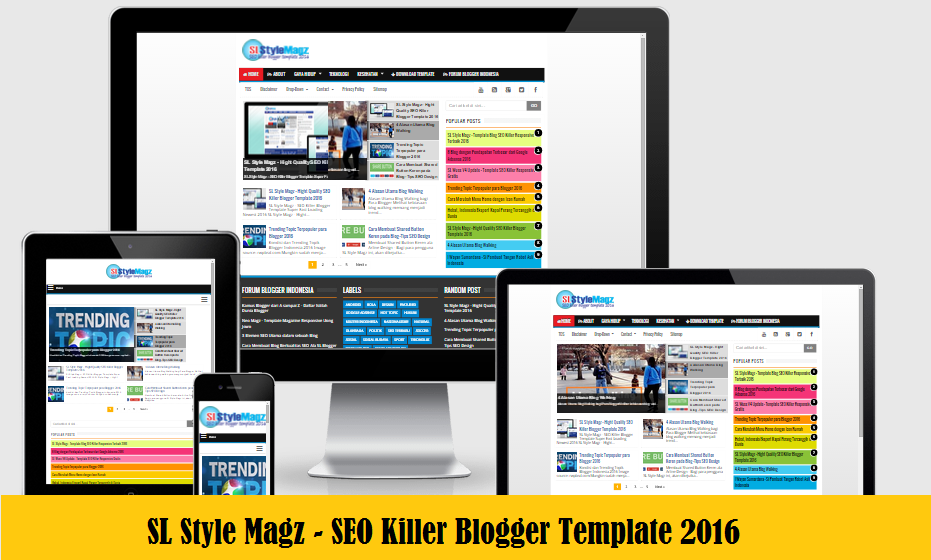 SL Style Magz - SEO Killer Responsive Blogger Template Newest 2016 ...