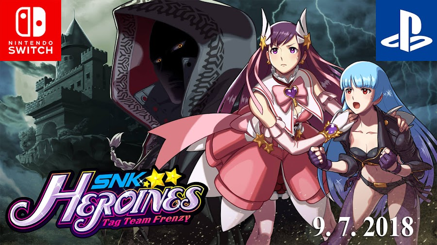 snk heroines tag team frenzy nintendo switch ps4