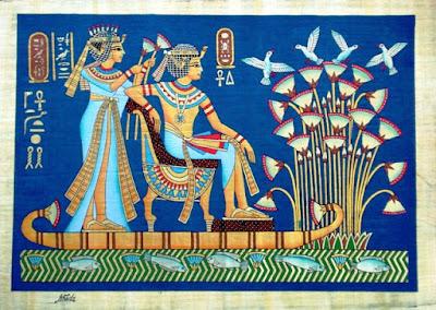http://www.fromcairo.com/images/Tut_papyrus_honeymoon.jpg