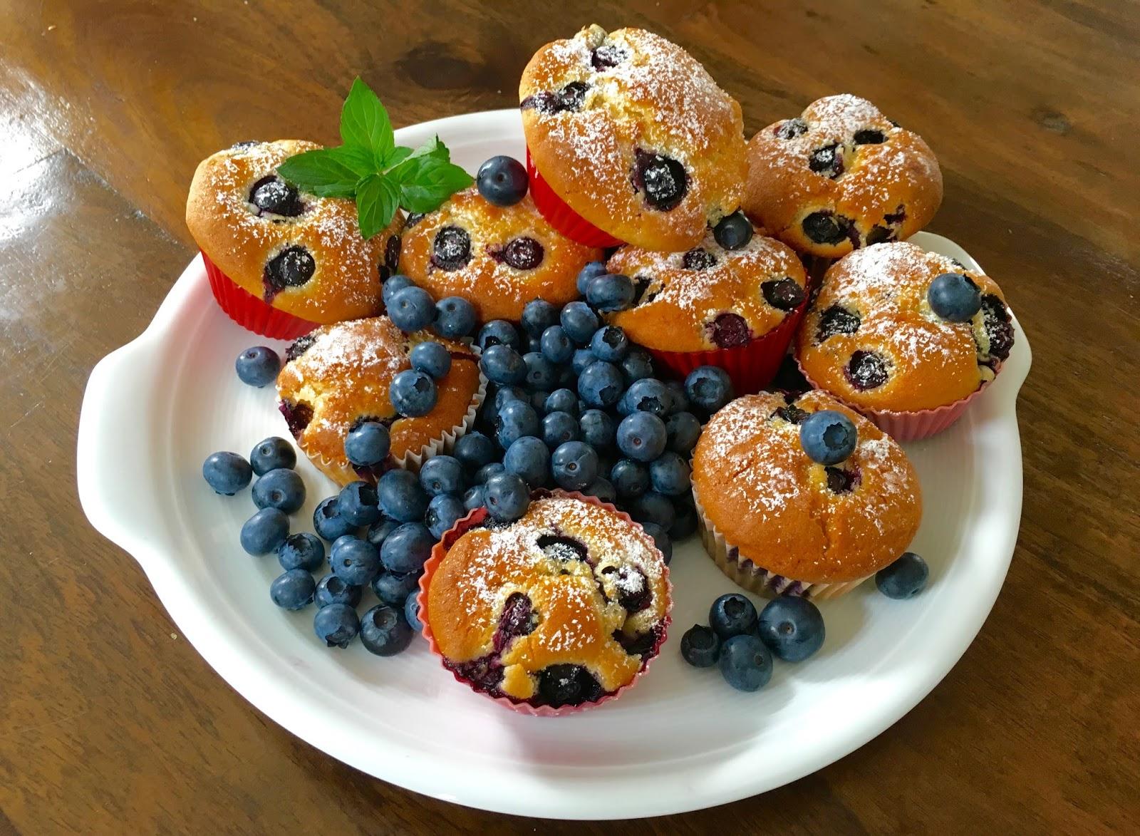 lust auf lecker ��� blaubeermuffins