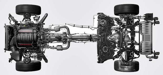2017 Chevy Camaro Engine