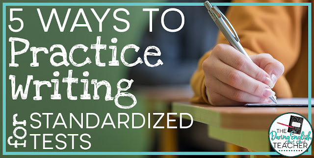 5 Ways to Practice Writing on Standardized Tests