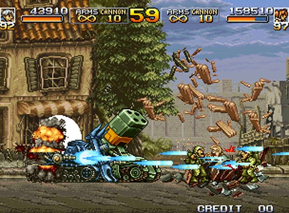 Metal Slug Collection PC Free Download Gameplay 1