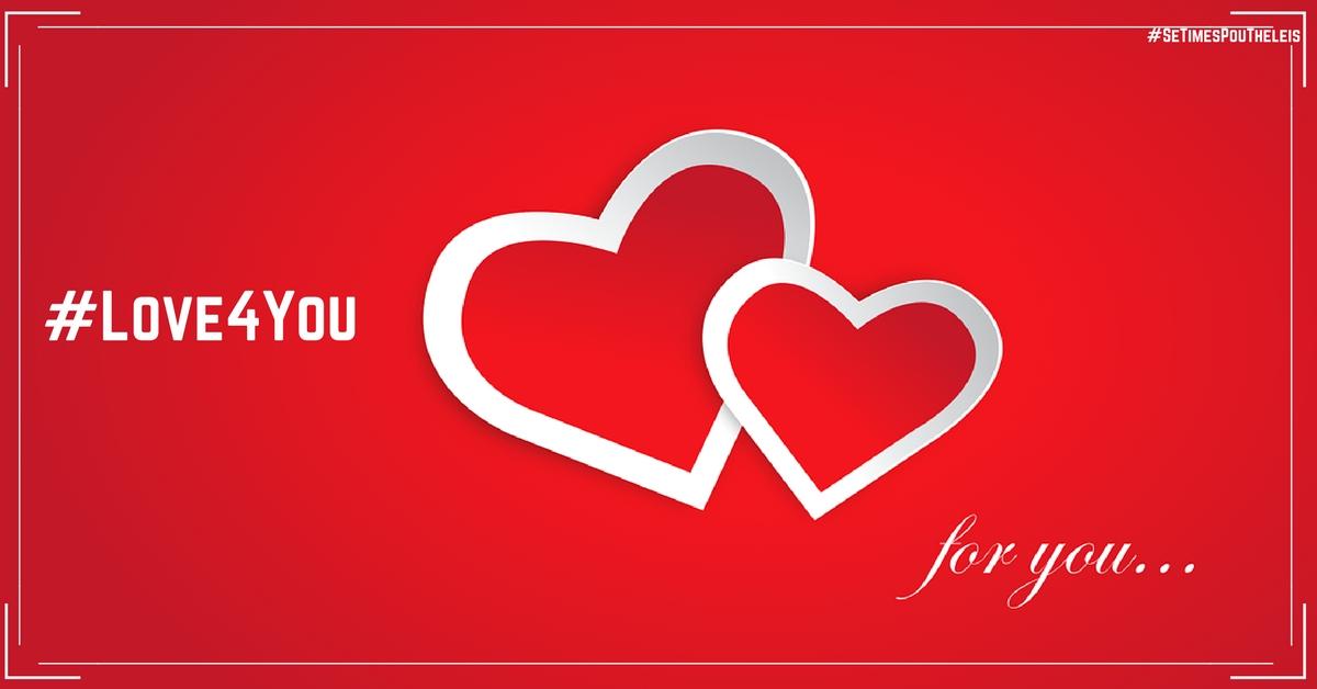 Δελτιο Τυπου για Το νεο μας αγαπησιαρικο Hashtag  #Love4You