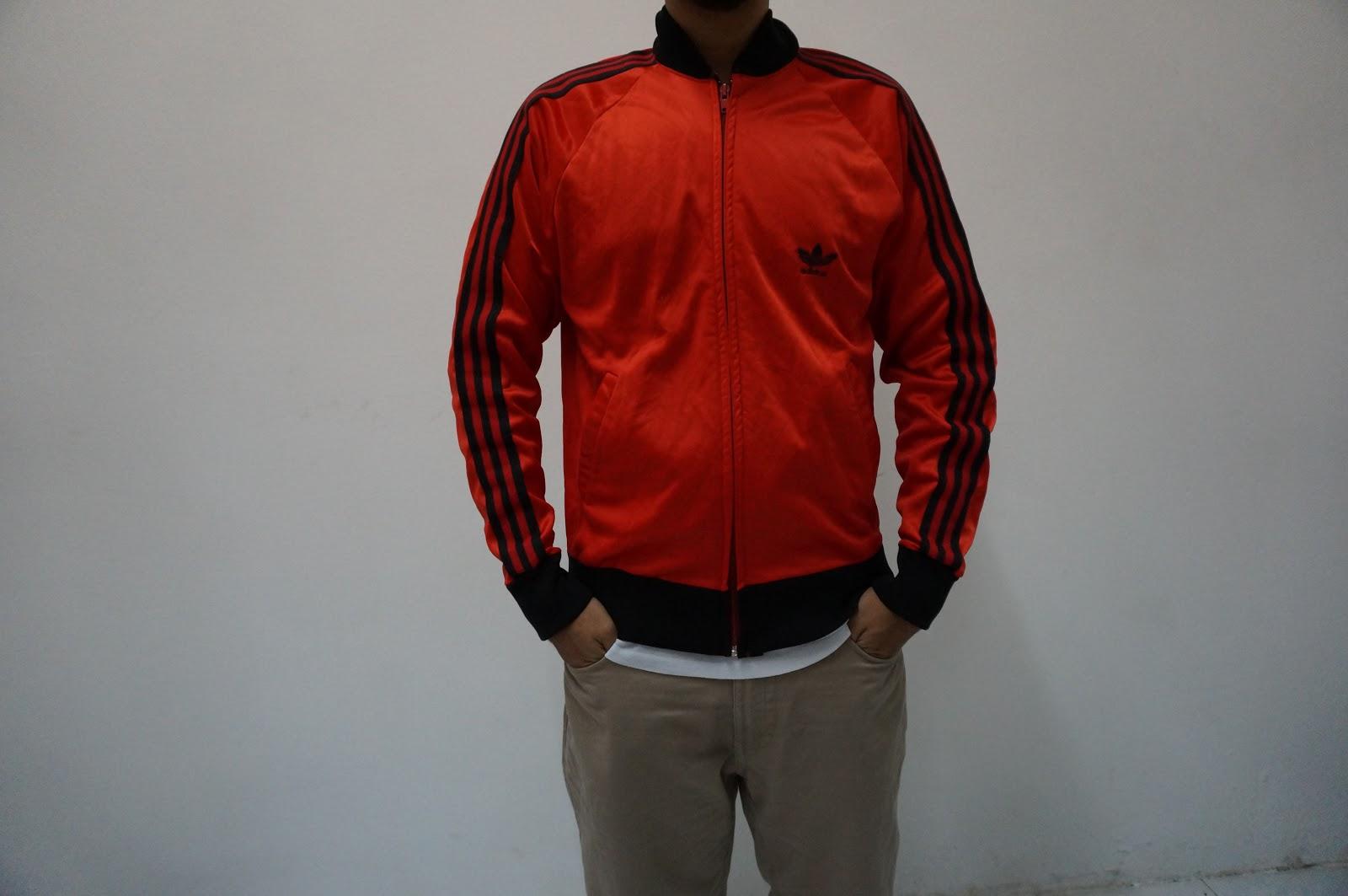 jaket adidas merah - photo #12
