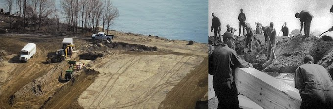 Hart Island, el cementerio escondido de los muertos sin nombres en Nueva York