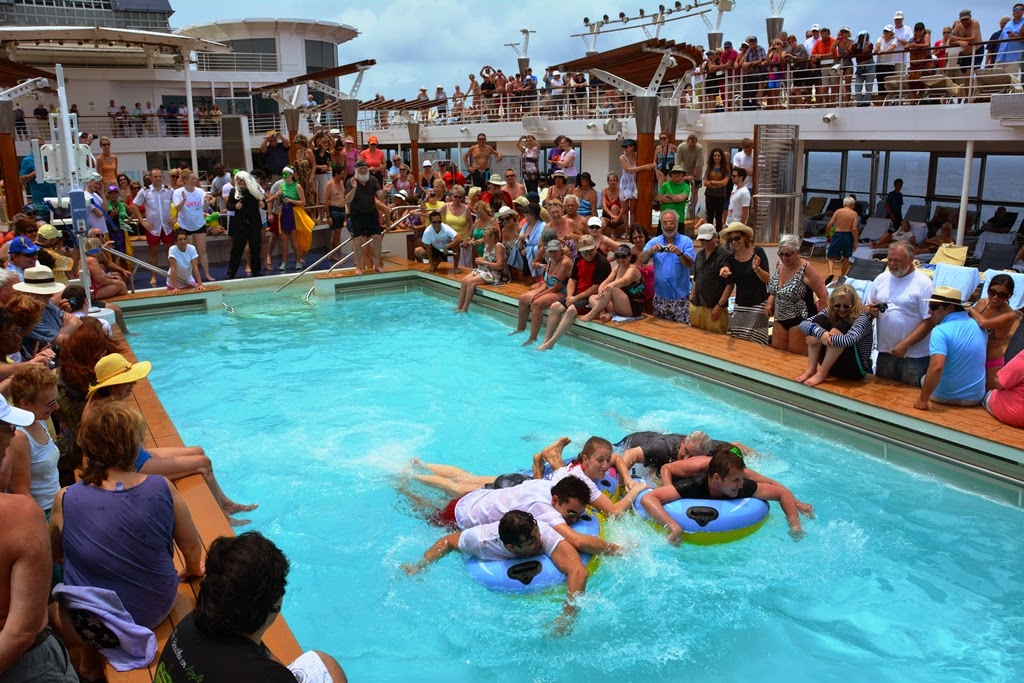 Celebrity Infinity Pool Games Equator