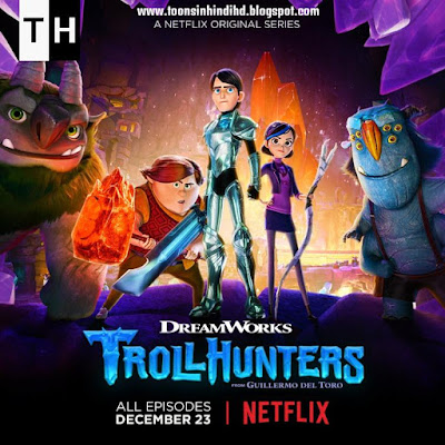 Trollhunters Season 1 HINDI Dubbed Episodes [HD 720p] Free Download