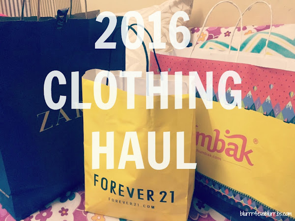 Clothing Haul 2016
