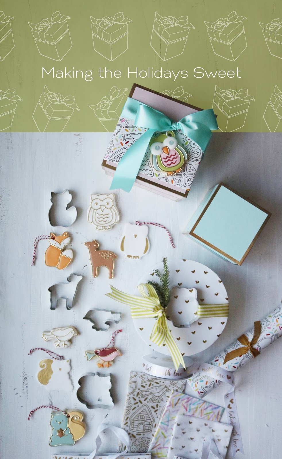 making the holidays sweet with the Sweet Life Collection | creativebag.com