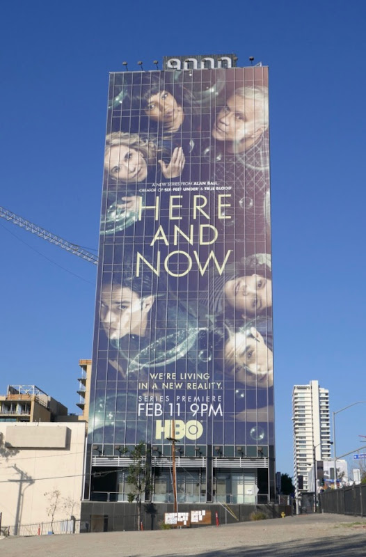 Giant Here and Now series premiere billboard