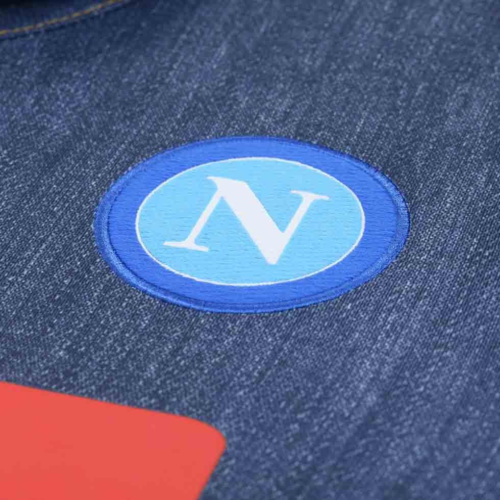 835c88b0b FlagWigs  Macron SSC Napoli 2014-2015 Italy Series A Away Jeans ...
